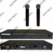 Микрофон SHURE LX88-II радиосистема 2 микрофона SHURE SM58 фото