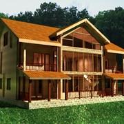 Дома каркасные деревянные под ключ фото