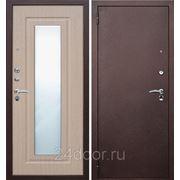 Дверь металлическа Царское Зеркало Бел.дуб фото