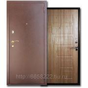 Дверь металлическая ЮГ-02 Светлый орех фото