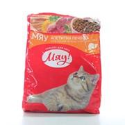 Сухой корм для котов с добавкой печени 400г - МЯУ фото