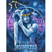 Картина по номерам Знак Зодиака Водолей фото