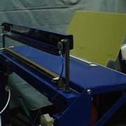 Комплекс из двух установок для изготовления бахил. фото