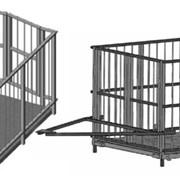 Весы электронные для взвешивания скота 4Д фото
