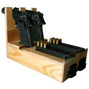 Деревянный ложемент на 2 пистолета Макарова фото