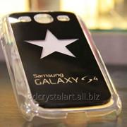 Лазерная гравировка на задней защитной панели телефона фото