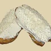 Пирожное заварное Иней с белковым кремом фото