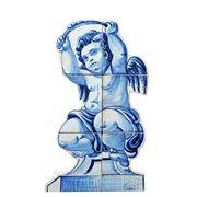 Керамические панно ангел гнёт лук -anj-4 фото