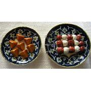 Макеты национальных блюд. фото