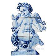 Керамические панно ангел -anj -1 фото