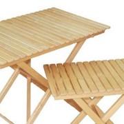 Стол прямоугольный раскладной 1000х900 фото