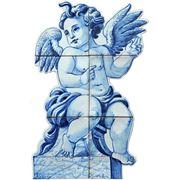 Керамические панно ангел -anj-13 фото