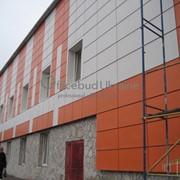 Монтаж вентилируемого фасада фото