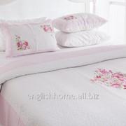 Покривало для ліжка печворк Loren 160x240 рожевий фото