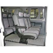 Микроавтобус Пежо (8+1) мест L2H2 белый складные передвижные диваны фото