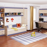 Детская комната Индиго 2 фото
