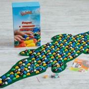 Коврик-дорожка массажный Крокодил MS-1264 фото