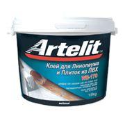 Клей для линолеума и плиток ПВХ ARTELIT WB-170 фото