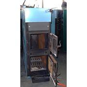 Котел твердотопливный, отопительный, газогенераторный «БАСТИОН М-КСТ-30ПУ» фото