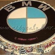 Торт тематический БМВ №0165 код товара: 4-0165 фото