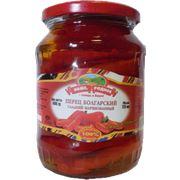 Перец красный сладкий маринованный (0720 л/720 г) фото