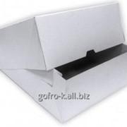 Коробка из мелованного картона 355*280*50 фото