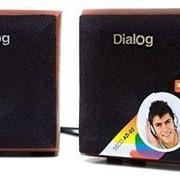 Система акустическая Dialog AD-02 cherry фото