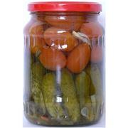 Овощи консервированные фото