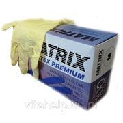 Латексные смотровые перчатки MATRIX фото