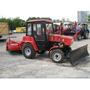 МТЗ-320, коммунальный уборочный трактор фото