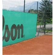 Фон ветрозащитный теннисный цвет светло зеленый фото