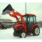 Снегоуборочный трактор-погрузчик KIOTI CK 35 фото