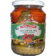 Ассорти №2 томаты-огурцы (0720 л/720 г) фото