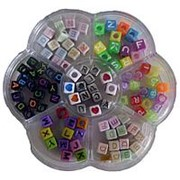 Набор бусинок Кубики фото