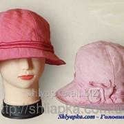 Шляпа тканевая светло-розовая 26/30-1 фото
