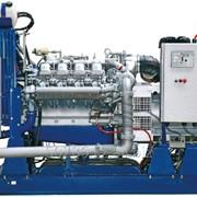 Стационарный дизельный электроагрегат на открытой раме АД60С-Т400-1РМ1 фото