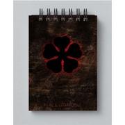Блокнот Черный Клевер, Black Clover №1 фото