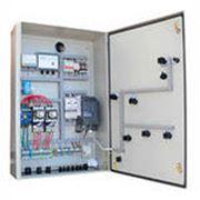 Производство шкафов управления для насосных станций. фото