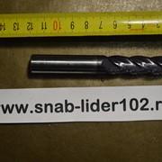 Фреза цилиндрический хвостовик концевая ф 3х3 ВК8 (монолит) фото