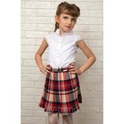 Детская плисерованная юбка фото