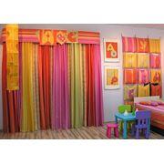 Ткани для детских штор фото