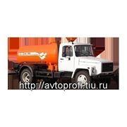 Вакуумная машина КО-503В-2 на шасси ГАЗ-3309 фото