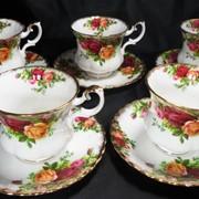 Набор фарфоровый чайный RОYAL ALBERT Англия фото