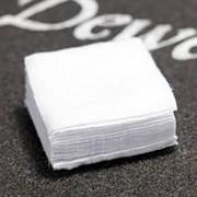 Патчи Dewey квадратные, 4,5x4,5см, к. .243-.270, хлопок, белый, 500 шт./уп. фото