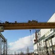 Ремонт мостовых кранов. фото