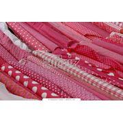Текстиль и кожа. Ткани из натуральных и искусственных волокон. Ткани хлопчатобумажные. Ткани вафельные хлопчатобумажные. фото