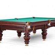 """Бильярдный стол / пирамида """"Turin"""" 9 ф (вишня, 6 ног, плита 38мм), Столы бильярдные, Лузы шары, и другие принадлежности для бильярда. фото"""
