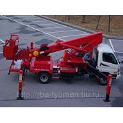 Автогидроподъемник ПСС-141.28Э (AWP-280) на шасси Hyundai,КамАЗ 28м. фото