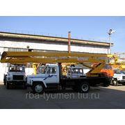 Автогидроподъемник ВС-22.02 (двухколенный) шасси ГАЗ-3309 (4х2) без электроизоляции фото