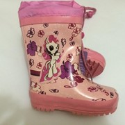 Детские резиновые сапоги для девочки фото